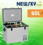 DC 12V 태양 강화된 휴대용 차 소형 냉장고