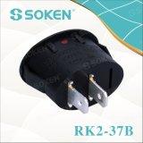 Interruptor de eje de balancín oval Rk2-37b