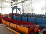 Macchina elaborante minerale del separatore a spirale per il lavaggio del minerale metallifero