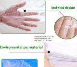 Перчатки HDPE нового продукта прозрачные выбитые устранимые