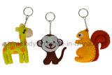 Fieltro animal Decotion del clave Chain//Felt Keychain/DIY