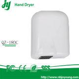 Piccolo essiccatore bianco della mano dell'elettrodomestico
