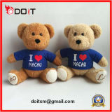 Ik houd Teddybeer van de Gift Sourvnir van de Teddybeer van Macao van de Naar maat gemaakte