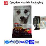 Пластичный алюминиевый раговорного жанра мешок собачьей еды 1.5kg с застежкой -молнией