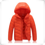 Crianças Men Winter Down Jacket Solid Silm Fit Thin Light Clothing 601