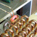 Tubo de cobre que cubre con bronce la pequeña soldadora de alta frecuencia electromágnetica de inducción Hf-15kw