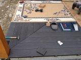 O Decking plástico de madeira clássico testou por Intertek