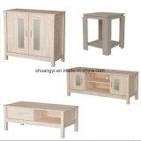 Комплекты мебели комнаты блока Sideboard таблицы стороны кофеего TV живущий