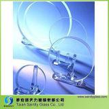 couverture en verre anti-calorique de Borosilicate de 3.8mm pour l'éclairage de DEL
