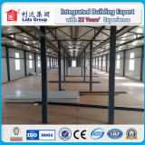 강철 구조물 조립식 집 또는 강제노동수용소 또는 Prefabricated 집