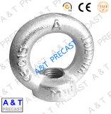 Acero al carbono galvanizado DIN582 la tuerca de ojo con alta calidad