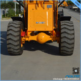 Caricatore idraulico 1.5ton piccolo Payloader della rotella della barra di comando da vendere