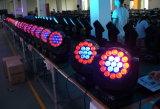 19*15W LED 광속 실내를 위한 이동하는 맨 위 단계 빛