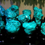 Ornamento azul do indicador de turquesa da pedra Semi preciosa