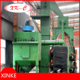 Rodillo automático con la desincrustación del chorreo con granalla de la estructura de acero