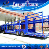 15m rimorchio del camion di trasporto dell'automobile dei 2 assi, di automobile 6 dell'elemento portante rimorchio semi