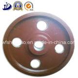 Rueda volante dúctil del bastidor del hierro/de arena de la fuente de China para la bici de ejercicio