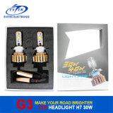 Luz/lâmpada da cabeça do carro do diodo emissor de luz do CREE do farol H7