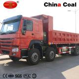 Vrachtwagen van de Kipper van de Stortplaats van de Mijnbouw van het vervoer 8*4 de Op zwaar werk berekende (WD615.69/WD615.47)