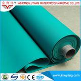 Membrana impermeable del PVC del alto polímero para la azotea plana