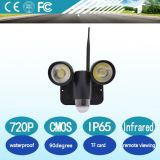 Arrival新しいPortable 720p Waterproof 5.0MP Motion PIR Sensor Security Light Camera Zr720 Night Vision Wiifi Wireless CCTV Camera