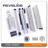 Ajustage de précision tandem de tiroir de cadre de matière en acier et plastique