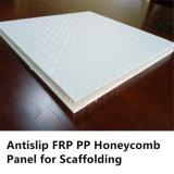 Panneau fait à l'usine de nid d'abeilles de FRP pp pour l'échafaudage et le Walkplatform