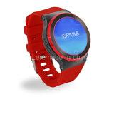 Kaart Wearable WiFi van de Pedometer SIM van de Controle van het Tarief van het Hart van Smartwatch de Androïde