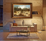 Het in het groot Olieverfschilderij Van uitstekende kwaliteit van de Decoratie, het Schilderen van de Decoratie van het Huis, het Schilderen van de Kunst (het Stieregevecht)