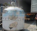 tanque de mistura Jacketed sanitário do aço 4000litres inoxidável (ACE-JBG-4)
