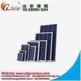 65W panneau solaire mono, module solaire pour le système domestique solaire, réverbère solaire