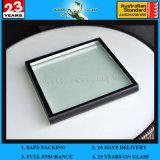 5-6mm passten Glas Isolierniedrige e-doppelte Glaszwischenwand an