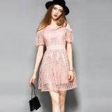 -Плечо a Hotsale полое - линия платье женщин с эластичным шкафутом