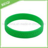 Bracelete/Wristbands feitos sob encomenda do silicone dos presentes da promoção da fábrica do OEM