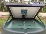 12W DCの住宅の使用の屋根の台紙- Sn2013006のための太陽アチックファン
