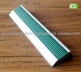 Sospecha de aluminio Bullnose de la escalera del PVC