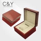 Caja de regalo ver laca mate caja de reloj de madera para embalaje