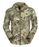 Outdoor Hoodie Waterproof Military Coat de Tactical Men do Cp, com o plutônio Material de Waterproof Breathable