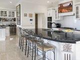 Nuovo armadio da cucina bianco antico di legno solido 2017 Yb-1706014