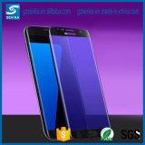 Samsung S7/S7 가장자리를 위한 독점적인 나노미터 실크 인쇄 반대로 파란 가벼운 강화 유리