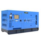 электрическое 125kVA приведенное в действие тепловозным комплектом генератора