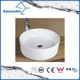 Bassin en céramique d'art de Module et premier bassin de lavage des mains de vanité (ACB8032)