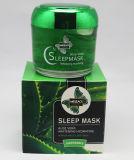 Máscara facial de máscara de dormir hidratante Aloe Vera