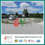 Folds를 가진 철사 Fence 또는 Galvanized 및 Polyester Powder Coated/Welded Fence
