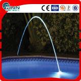 Gicleur laminaire de fontaine de lumière multiple de couleurs