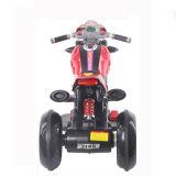 Motocicleta elétrica dos miúdos quentes da roda da venda três com música