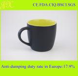 310ml de veelkleurige Ceramische Mok van de Koffie, Matte Zwarte Mok