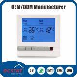 Termostato del condizionamento d'aria delle unità della bobina del ventilatore con calore/interruttore di modo freddo