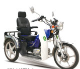 Mini refrigerar a motocicleta da roda 150cc do lado três do projeto