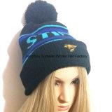 Beanie de chapeau du chapeau Hat//Jacquard de l'hiver/chapeau tricoté